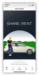 Share2Rent Booking & Driving Experience